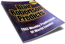 Blair Robertson Free Weekly Predictions
