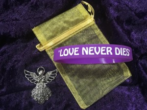 Love Never Dies Wristband & Guardian Angel