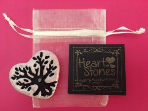 healing heart stones