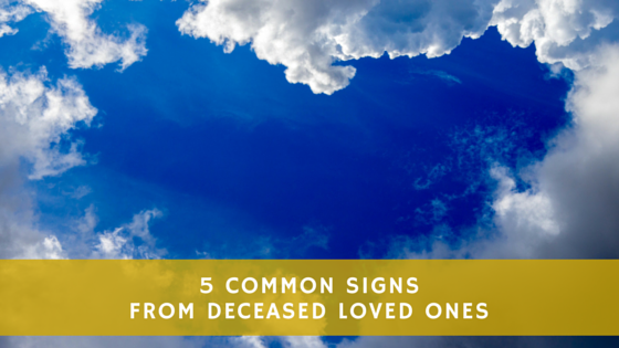 signs from our deceased loved ones
